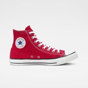 Chuck Taylor All star red high top converse!